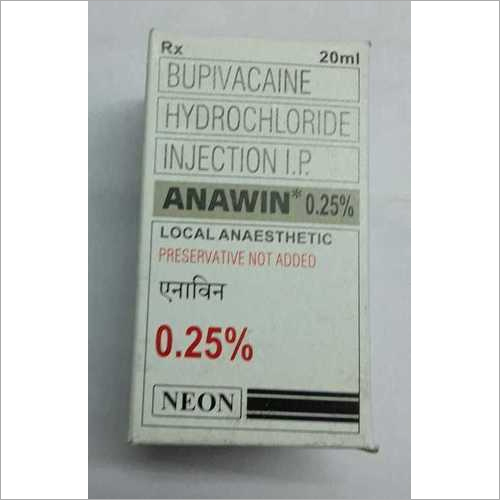 Bupivacaine Hydrochloride Injection