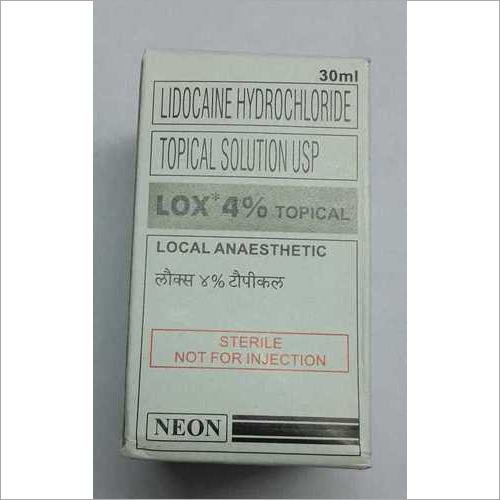 Lidocaine Hydrocloride Topical solution