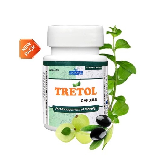 Tretol Capsules (Anti-Diabetes)