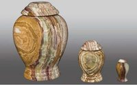 Onyx Pedestal Adult Youth & Token Aluminum Urn