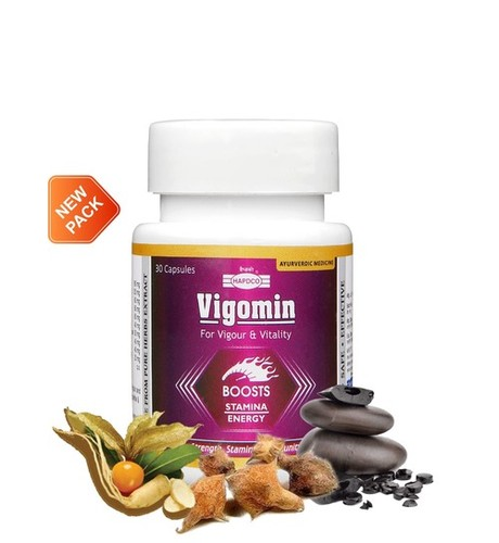 Vigomin Capsules (Vigour & Vitality)