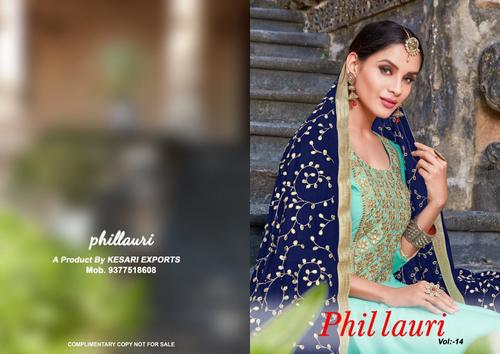 DESIGNER PLAZZO SUITS ( PHILLOURI )