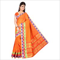 Fancy Pure Cotton Silk Saree