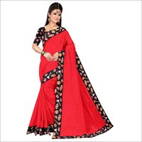 Chanderi Silk Designer Saree