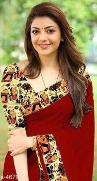 Designer Chanderi Cotton House Saree