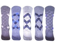 WARM WOOLEN MULTICOLORED SOCKS FOR MEN