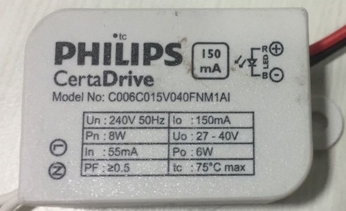 Philips Led Driver 6W 150mA