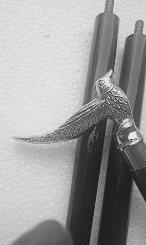 Antique Style Victorian Canes Brass Designer Handle Wooden Walking Stick