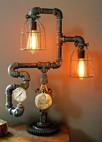 ANTIQUE INDUSTRIAL LAMP