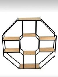 HEXAGONAL BOOKSHELF