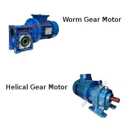 Helical Gear & Worm Gear Motor