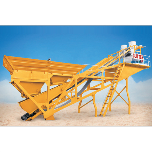 Compact Mobile Batching Plant