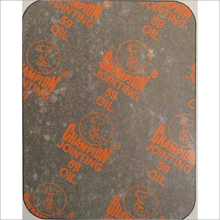Champion Style 59 Oil Jointing Sheet