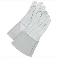 Grain Leather Tig Welding Gloves