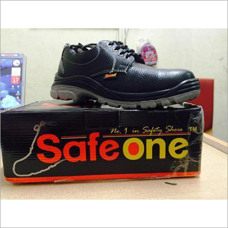 Industrial Leather Safety Shoes Steel Toe