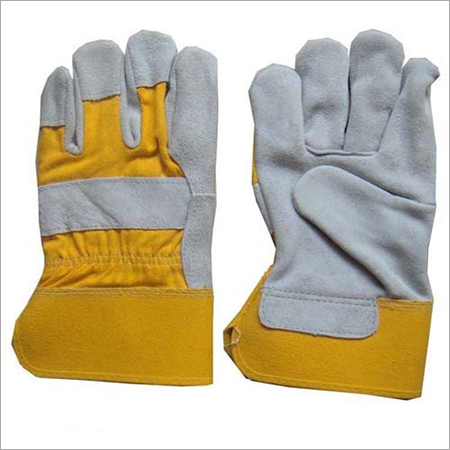 Leather Safety Work Gloves