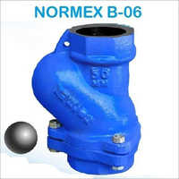 Normex Ball Check Valve Threaded B-06