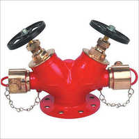 SWATI Double Headed Hydrant Valves ISI MARKED