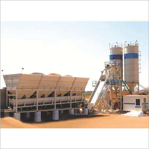 Inline Concrete Batching Mixing Plant