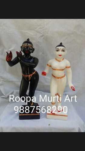 Radha Krishna Marble Sculpture