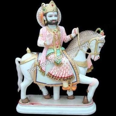 Marble Ram Dev Baba Statue