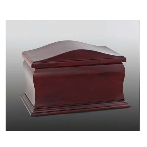 Scala Two Cherry Hardwood Urn