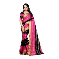 Fancy Cotton Silk Saree