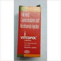 folic acid cyanocobalamin nicotinamide injection
