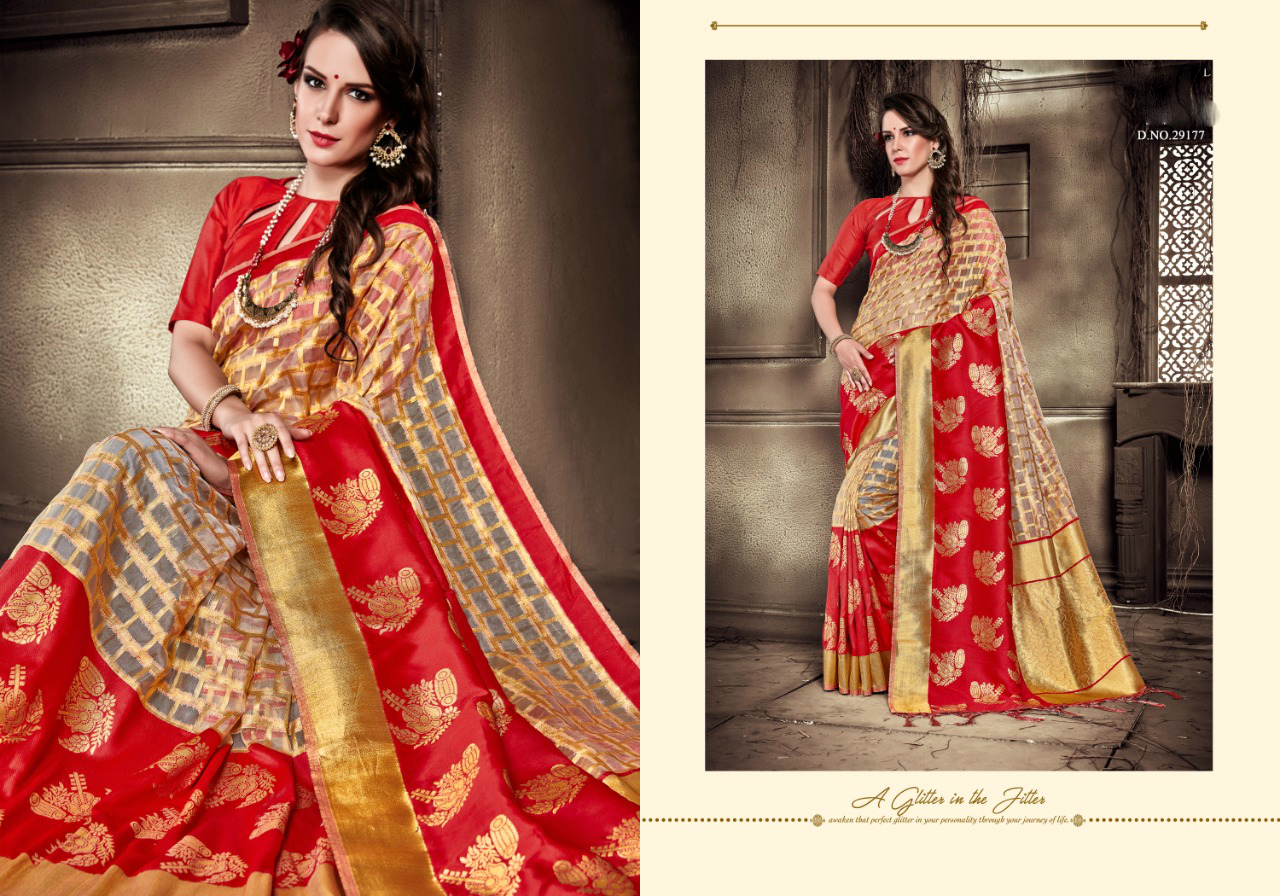 Exclusive Organza Silk Saree