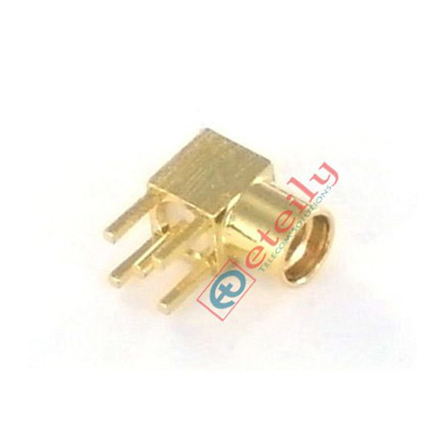 MMCX Female R-A PCB Mount Connector