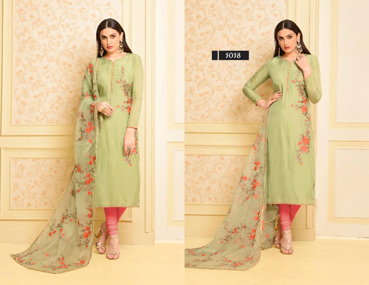 Exclusive Upada Silk Suit