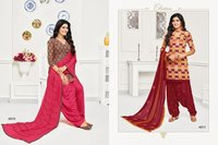 Cotton Patiyala Suits