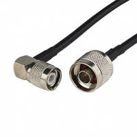 RG 58 N Male To TNC Male Right Angle Cable