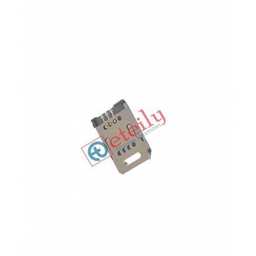 6 Pin Flip Type Metal Body Sim Card Holder