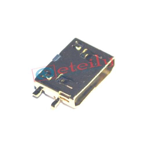 0.8mm C Type Smt Gold Plating Mini Hdmi Female Socket
