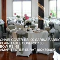 Plain Table & Chair Cover
