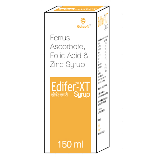150ml Ferrus Ascorbate Folic Acide and Zinc Syrup