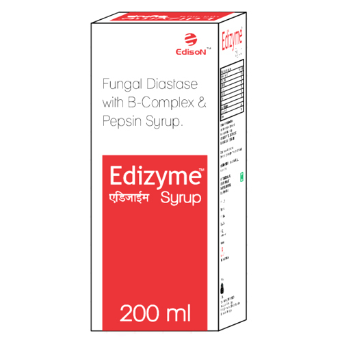 200ml Fungal Diastase With B-Complex and Pepsin Syrup