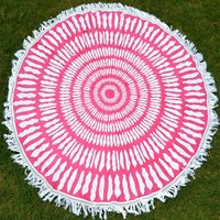 Indian Mandala Cotton Fabric Hippie Hippy Beach Towel Roundie