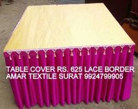 Lace Border Table Cover