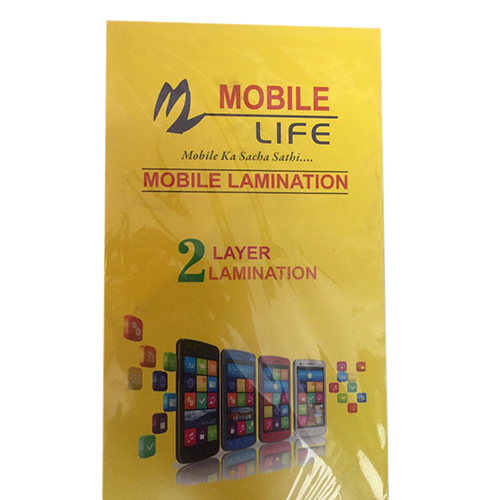 2 Layer Mobile Lamination