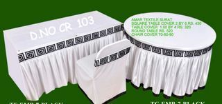 Chair and Table Cover