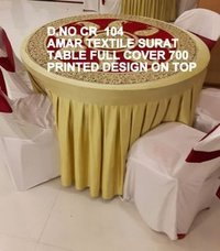 Table and chair cover