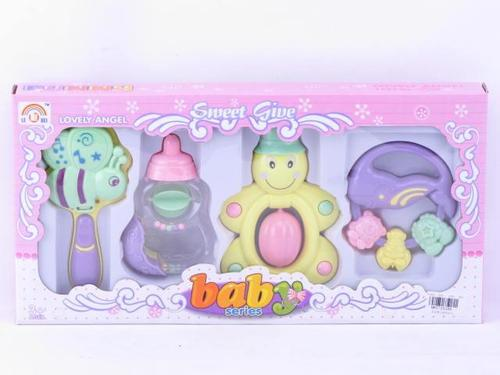 Rattle Set  4 pcs box
