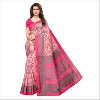 Bhagalpuri Silk Printed Saree