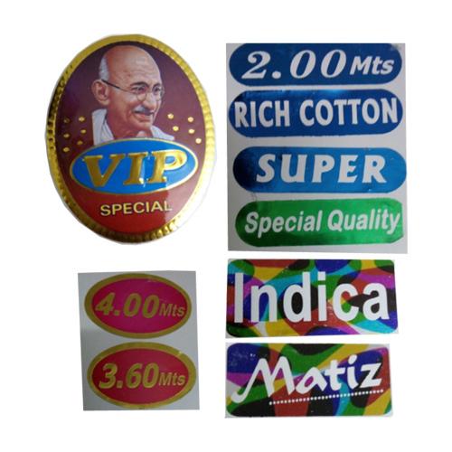 Hot Stamping Foil Sticker
