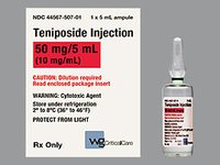 Teniposide Injection