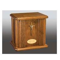 Ascending Angel Wood Cremation Urn