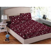 Polycotton Printed Bed Sheet