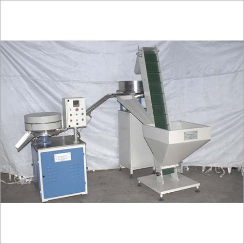 Cap Slitting Machine With Elevator